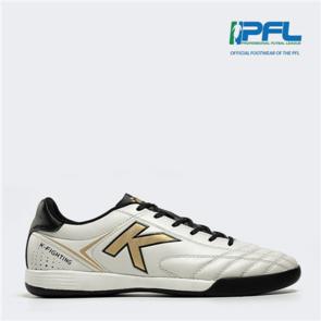 Kelme K Fighting Futsal Shoe – White/Black