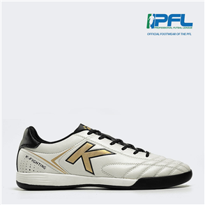 Kelme K Fighting Futsal Shoe – White/Black