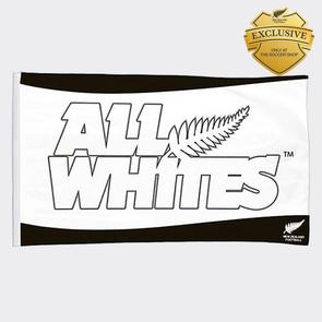 All Whites Mega Flag