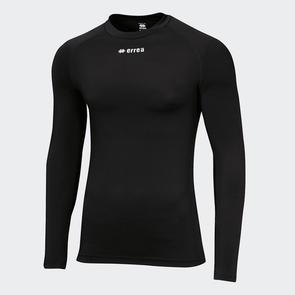 Erreà Ermes Baselayer LS Shirt – Black