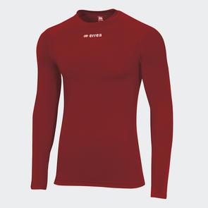 Erreà Ermes Baselayer LS Shirt – Maroon