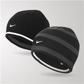 Nike Cat ID Reversible Beanie – Black