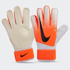Nike Match GK Gloves – White/Hyper-Crimson