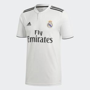 adidas 2018-19 Real Madrid Home Jersey