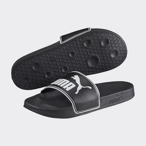 Puma LEADCAT Slides  – Black/White