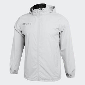 Kelme Junior Clima Wind & Rain Jackets – White