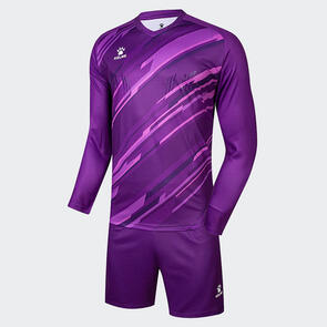 Kelme Junior 2020-21 Goalkeeper LS Set – Purple