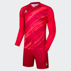 Kelme Junior 2020-21 Goalkeeper LS Set – Red