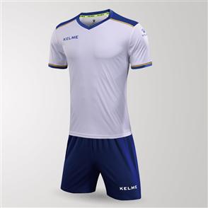 Kelme Tecnica Jersey & Short Set – White/Blue