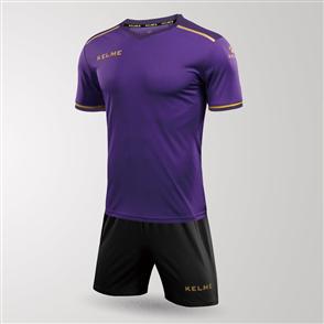 Kelme Tecnica Jersey & Short Set – Purple/Black
