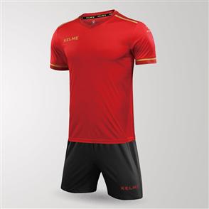 Kelme Tecnica Jersey & Short Set – Red/Grey