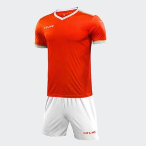 Kelme Tecnica Jersey & Short Set – Neon Orange/White