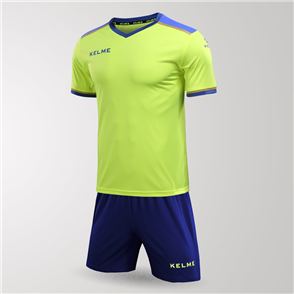 Kelme Tecnica Jersey & Short Set – Yellow/Blue