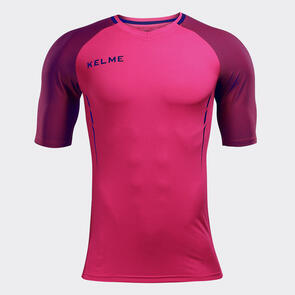 Kelme Trueno Shirt – Neon-Rose/Navy