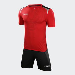 Kelme Tigre Jersey & Short Set – Red/Black