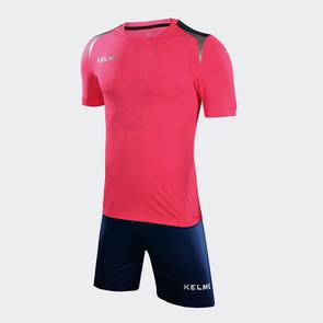 Kelme Tigre Jersey & Short Set – Neon Rose/DarkBlue