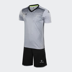 Kelme Velo Short Sleeve GK Set – Light-Grey/Black