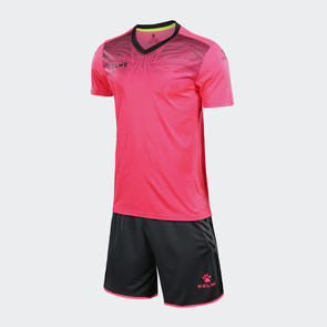 Kelme Velo Short Sleeve GK Set – Neon-Rose/Dark-Grey