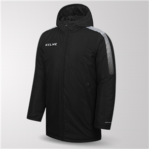 Kelme Capa Padded Jacket – Black/Silver
