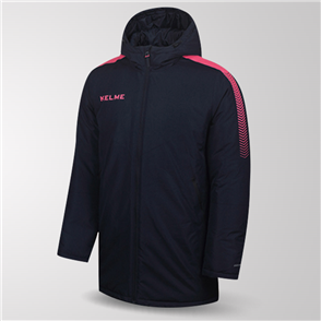 Kelme Capa Padded Jacket – Navy/Pink