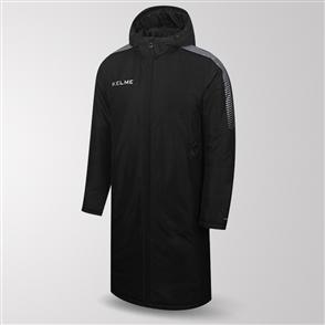 Kelme Protecta Long Padded Jacket – Black/Silver