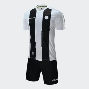 Kelme Banda Jersey & Short Set – White/Black