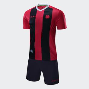 Kelme Junior Banda Jersey & Short Set – Red/Black
