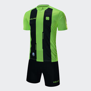 Kelme Junior Banda Jersey & Short Set – Neon-Green/Black