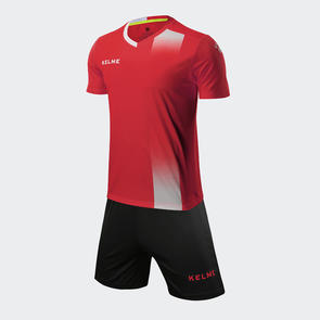 Kelme línea Jersey & Short Set – Red/White