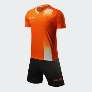 Kelme línea Jersey & Short Set – Neon Orange/White