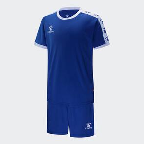 Kelme Junior Cinta Jersey & Short Set – Blue/White