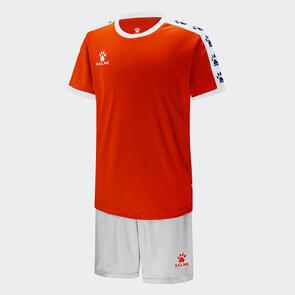 Kelme Junior Cinta Jersey & Short Set – Neon-Orange/White