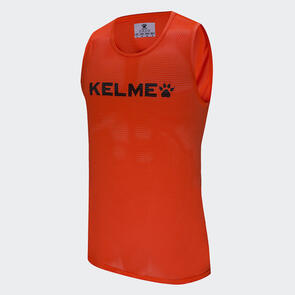 Kelme Junior Training Bib – Neon-Orange/Black