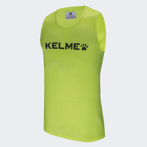 Kelme Junior Training Bib – Neon-Green/Black
