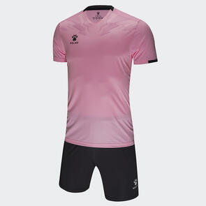 Kelme Estilo Jersey & Short Set – Pink/Grey