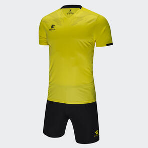 Kelme Estilo Jersey & Short Set – Yellow/Black