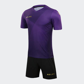 Kelme Cruz Jersey & Short Set – Purple/Gold