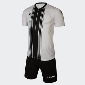 Kelme Paralela Jersey & Short Set – White/Black