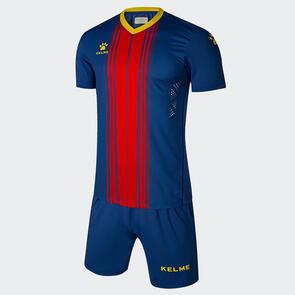 Kelme Paralela Jersey & Short Set – Blue/Red