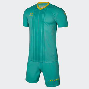 Kelme Paralela Jersey & Short Set – Lake-Blue/Yellow