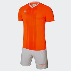 Kelme Paralela Jersey & Short Set – Neon-Orange/White