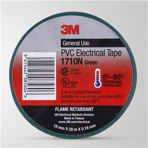 3M Insulation Tape – Green