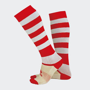 Erreà Zone Socks – Red/White