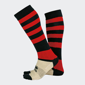 Erreà Zone Socks – Black/Red