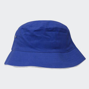 TSS Brushed Sports Twill Bucket Hat – Royal/White