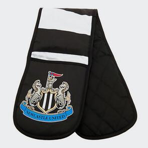 Newcastle United Oven Gloves - Black/White