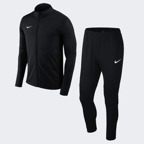 Nike Park 18 Football Tracksuit  – Black