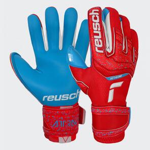 Reusch Attrakt Aqua GK Gloves – Red/Blue