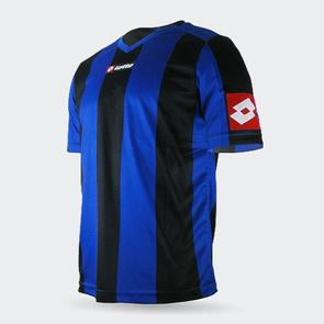 Lotto Junior Prestige Shirt – Blue/Black