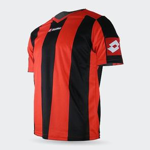 Lotto Junior Prestige Shirt – Red/Black